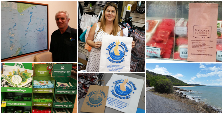 Cairns retailers get ready for plastic bag ban