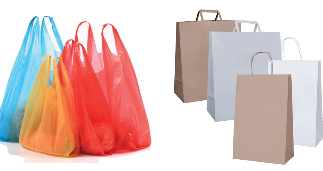 Paper vs Plastic – what's the best option for your business?