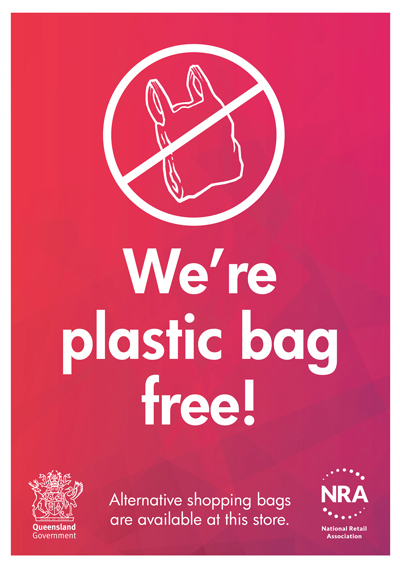QLD BAG BAN - Resources for retail businesses Plastic Shopping Bags With Logo