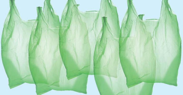 Why are biodegradable bags banned?
